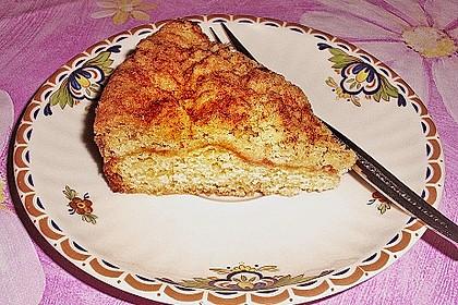 Apfel - Streuselkuchen vom Blech 31