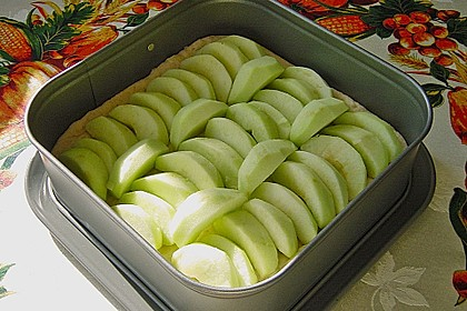 Apfel - Streuselkuchen vom Blech 37