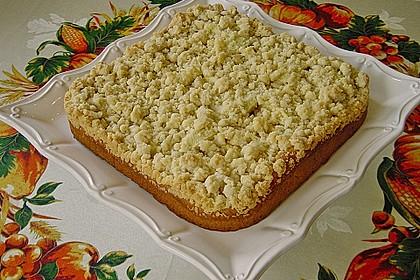 Apfel - Streuselkuchen vom Blech 2