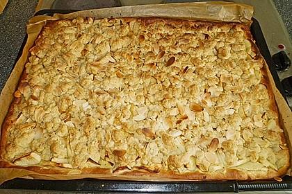 Apfel - Streuselkuchen vom Blech 23