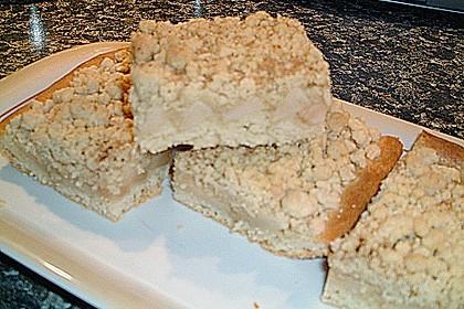 Apfel - Streuselkuchen vom Blech 40