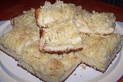Apfel - Streuselkuchen vom Blech 30