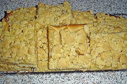 Apfel - Streuselkuchen vom Blech 8