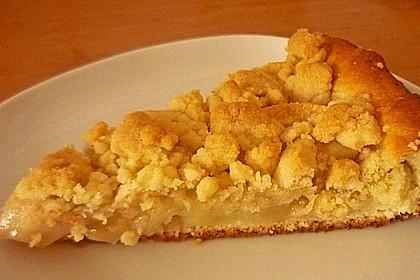 Apfel - Streuselkuchen vom Blech 7