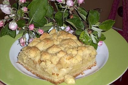 Apfel - Streuselkuchen vom Blech 3