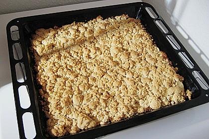 Apfel - Streuselkuchen vom Blech 17