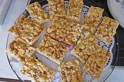 Apfel - Streuselkuchen vom Blech 18