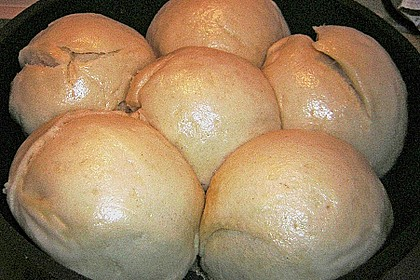 Oma´s Dampfnudeln - ohne Eier 8