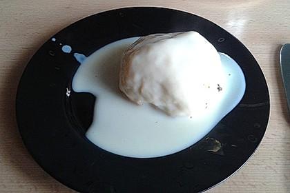 Oma´s Dampfnudeln - ohne Eier 4