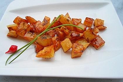 Bratkartoffeln kandiert