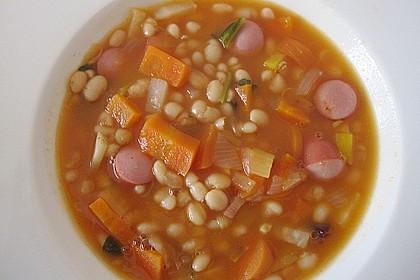 Astrids schnelle Bohnensuppe