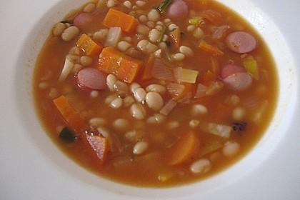 Astrids schnelle Bohnensuppe 3