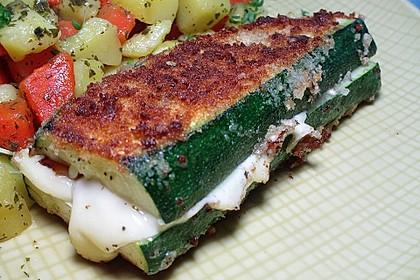 Rezeptbild zum Rezept Zucchini-Cordon bleu