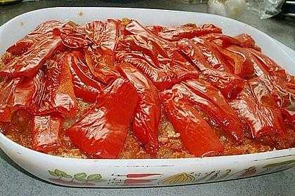 Couscous-Auflauf mit gegrilltem Paprika 13
