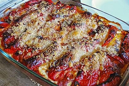 Couscous-Auflauf mit gegrilltem Paprika 7