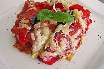 Couscous-Auflauf mit gegrilltem Paprika 4