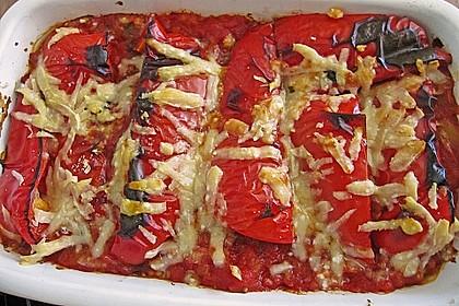 Couscous-Auflauf mit gegrilltem Paprika 10