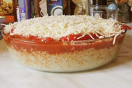 Couscous-Auflauf mit gegrilltem Paprika 11