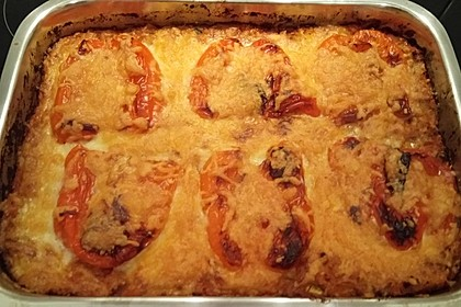 Couscous-Auflauf mit gegrilltem Paprika 1