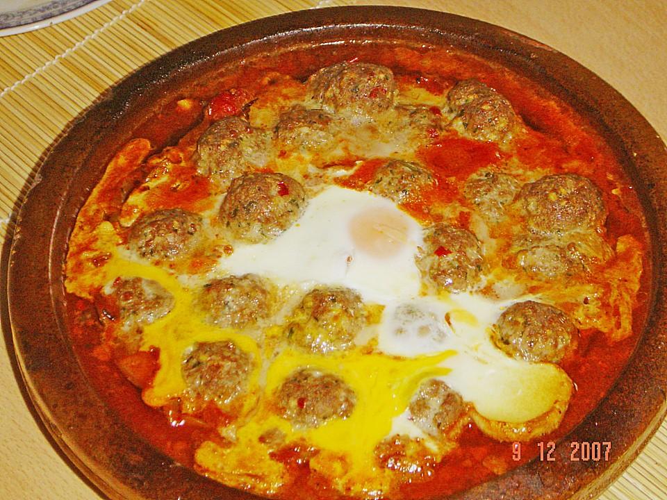 hackfleisch - eier tajine (rezept mit bild) von marya2702 ... - Marokkanische Küche Rezepte