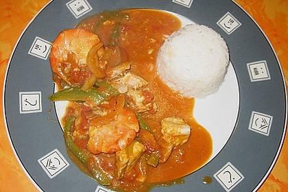 Brasilianische Fischpfanne mit Reis 24
