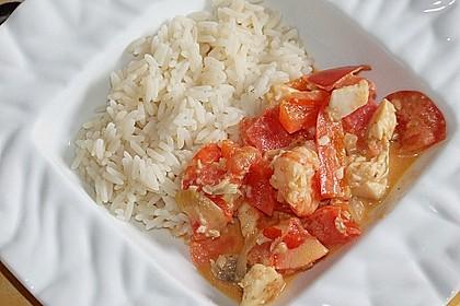 Brasilianische Fischpfanne mit Reis 5