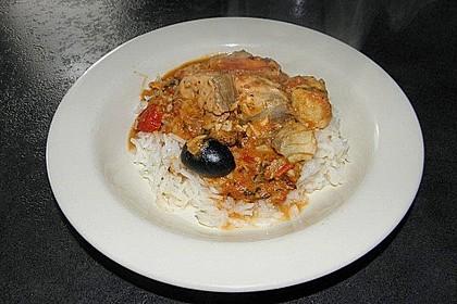 Brasilianische Fischpfanne mit Reis 21