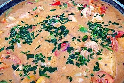 Brasilianische Fischpfanne mit Reis 20