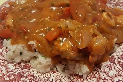 Brasilianische Fischpfanne mit Reis 7