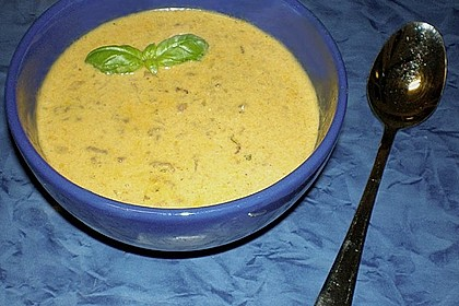 Apfel - Curry - Suppe