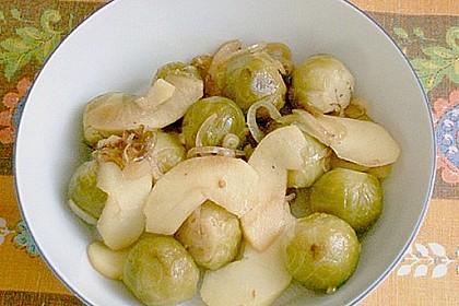 Apfel - Zwiebel - Rosenkohl 5