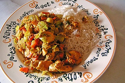 Ibu's Rosenkohl - Curry mit Hühnchen 1
