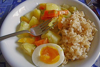 Gemüse-Eier Ragout 4