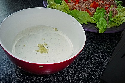 Salat - Joghurt - Dressing 5