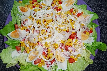 Salat - Joghurt - Dressing 6