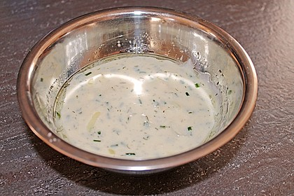Salat - Joghurt - Dressing 10