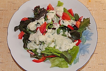 Salat - Joghurt - Dressing 7