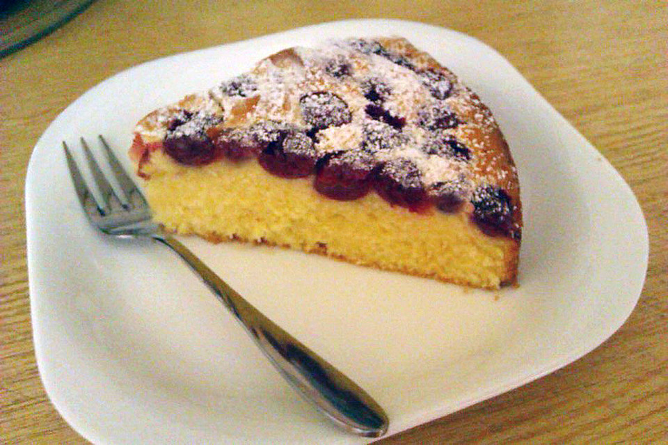 Creme Fraiche Kirschkuchen Von Elke14 Chefkoch De