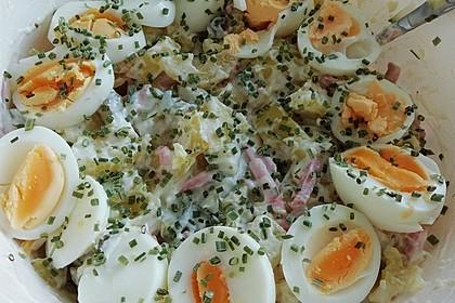 Pikanter Kartoffelsalat mit Ei 4