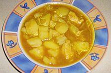 Persisches Hähnchen - Kartoffel - Gulasch