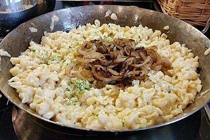 Allgäuer Käsespätzle 4