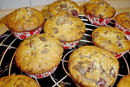 Kirsch - Mandel - Schoko - Muffins 1