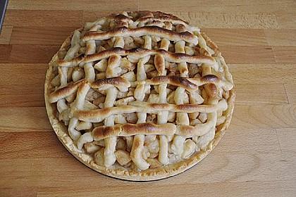 Apfel - Marzipan - Torte 1