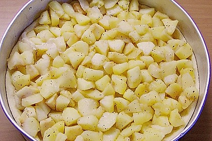 Apfel - Marzipan - Torte 3
