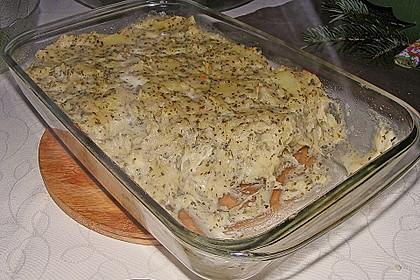 Italienisches Käse - Kartoffelpüree aus dem Ofen 9