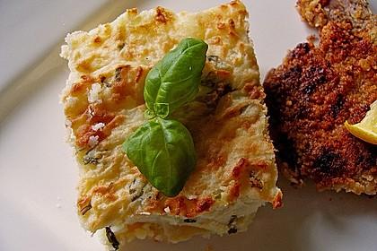 Italienisches Käse - Kartoffelpüree aus dem Ofen