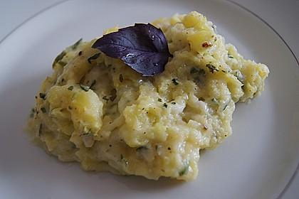 Italienisches Käse - Kartoffelpüree aus dem Ofen 7