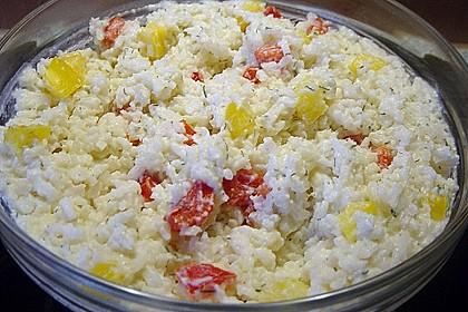 Reis - Paprika - Salat 1