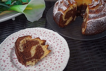 Laras Nutella - Marmorkuchen 1