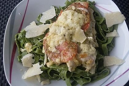 Rotbarsch mit Tomate - Mozzarella in Folie 8